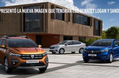 Se presentó la nueva imagen que tendrán los Renault Logan y Sandero