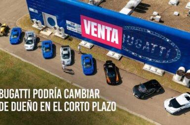 Bugatti podría cambiar de dueño en el corto plazo