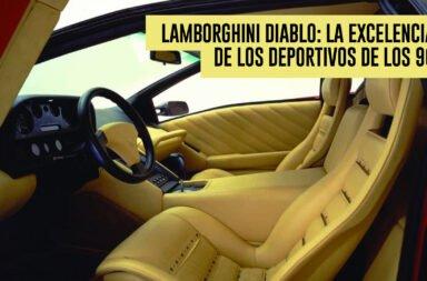 Lamborghini Diablo: La excelencia de los deportivos de los 90