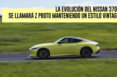 La evolución del Nissan 370Z se llamará Z Proto manteniendo un estilo vintage
