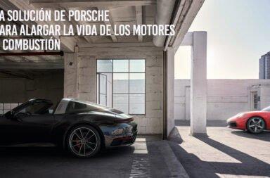 La solución de Porsche para alargar la vida de los motores a combustión