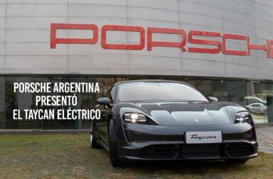 Porsche Argentina presentó el Taycan eléctrico