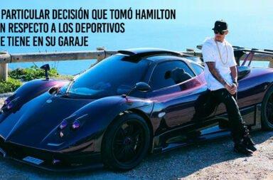 La particular decisión que tomó Hamilton con respecto a los deportivos que tiene en su garaje