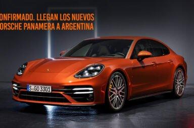 El nuevo Porsche Paranamera se venderá en Argentina en sus tres versiones