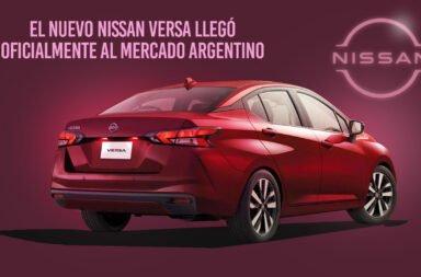 El Nissan Versa 2021 llegó oficialmente al mercado argentino