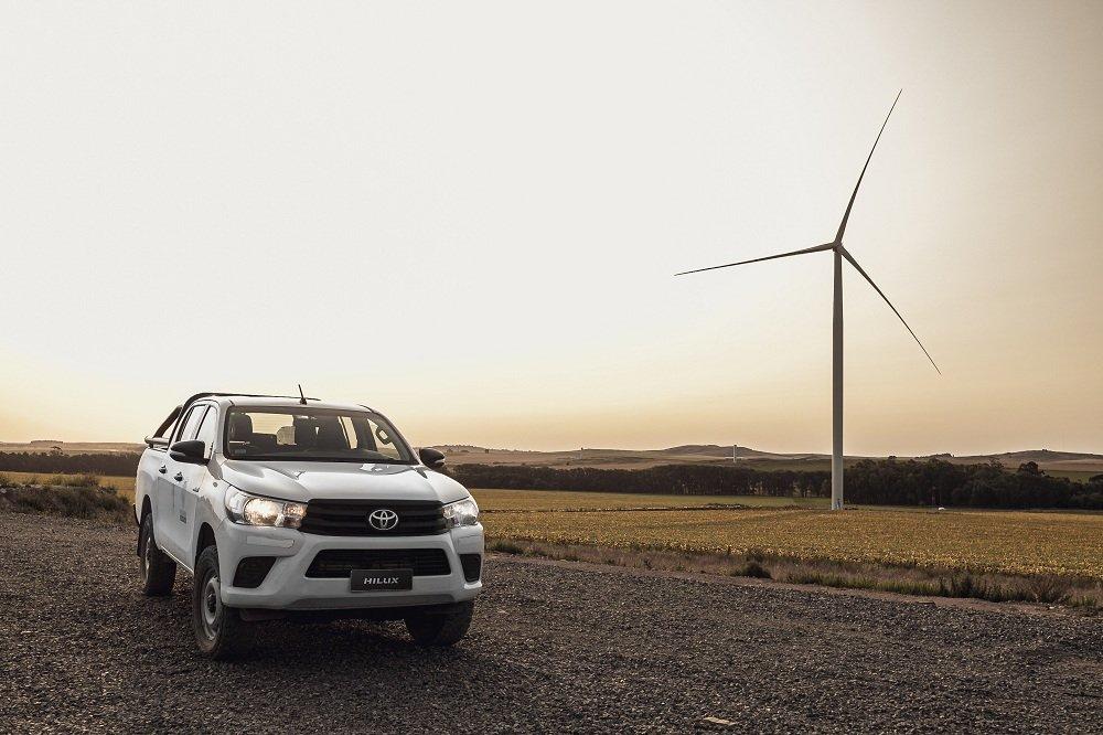 Toyota se involucra con el ambiente y produce con el 100% de energía eléctrica renovable en Zárate