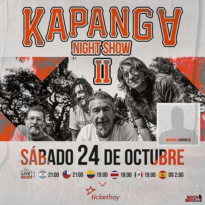 Kapanga presenta 'Kapanga Night ShowII'