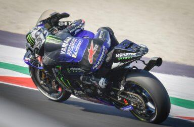 Viñales volvió a dominar el sábado del Moto GP en Misano