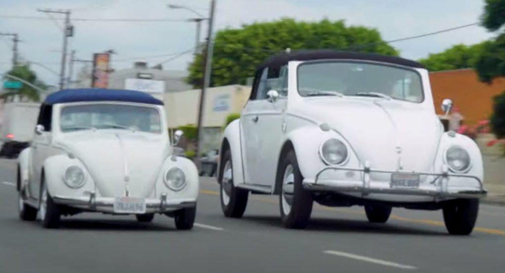 Fabricaron un Volkswagen Beetle más grande que un Hummer y con motor V8
