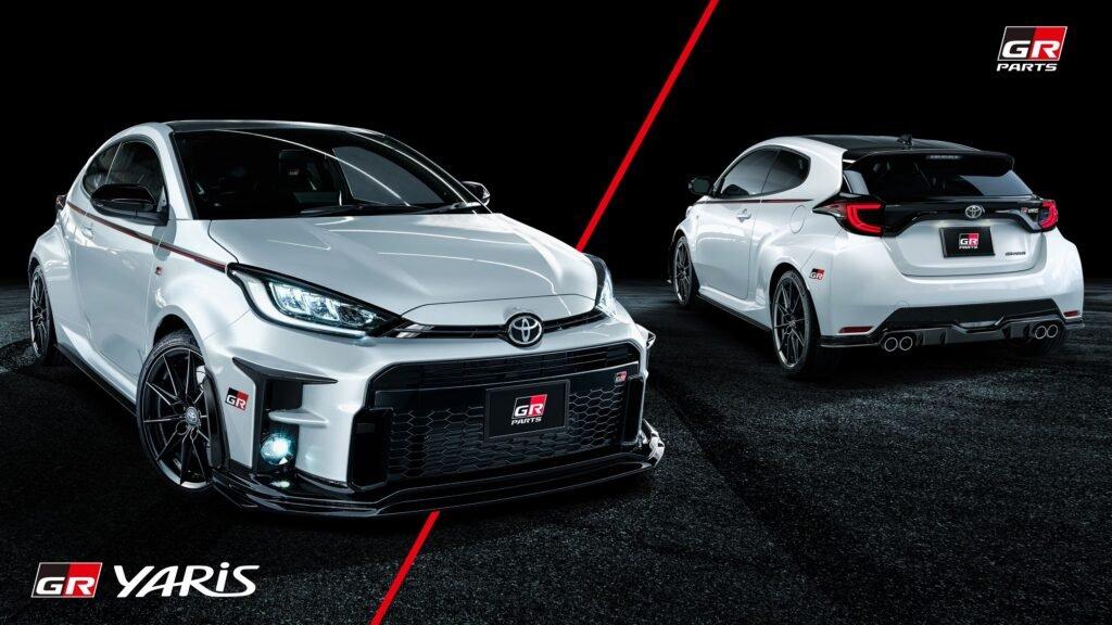 De la mano de Toyota Gazoo Racing el Yaris recibió una cuota de deportividad