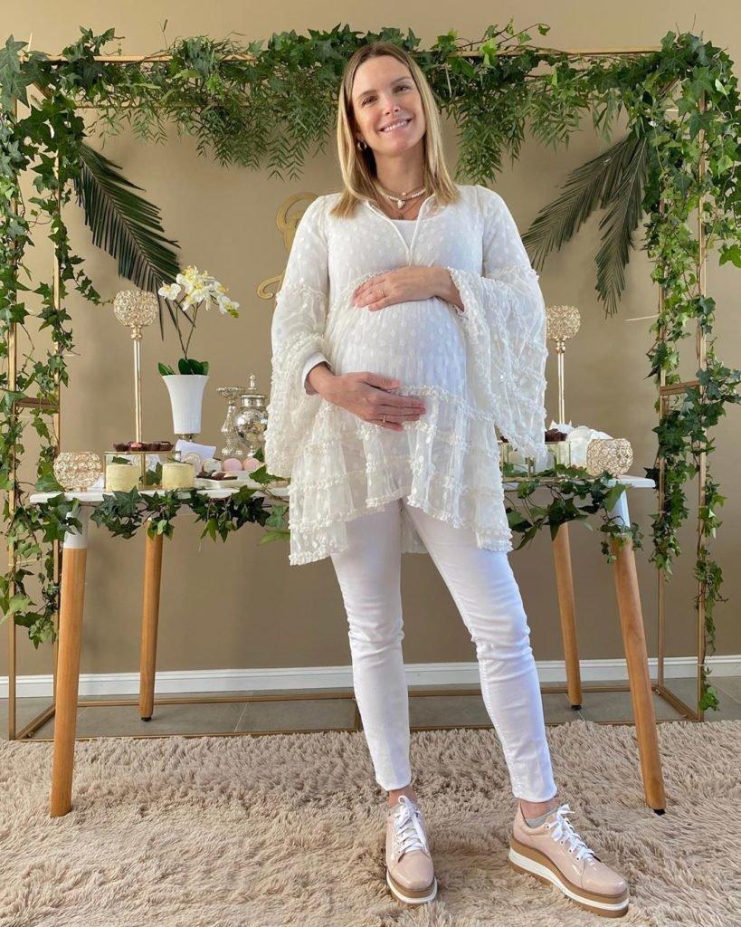 Sofía Zámolo hizo el baby shower de su bebé pese a la pandemia: su descargo