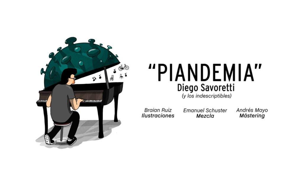 Diego Savoretti presenta su quinto disco: Piandemia