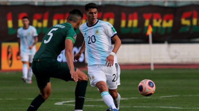 Argentina le ganó a Bolivia en La Paz.