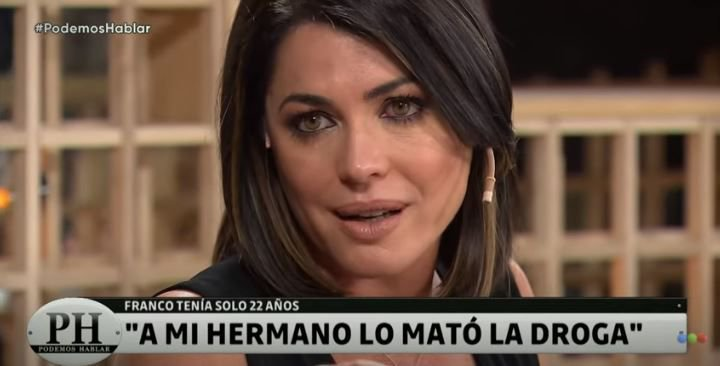 Pamela David recordó a su hermano