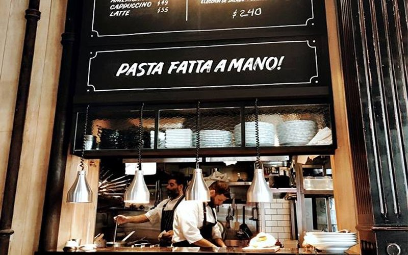 Il Quotidiano Bar de Pastas Palermo