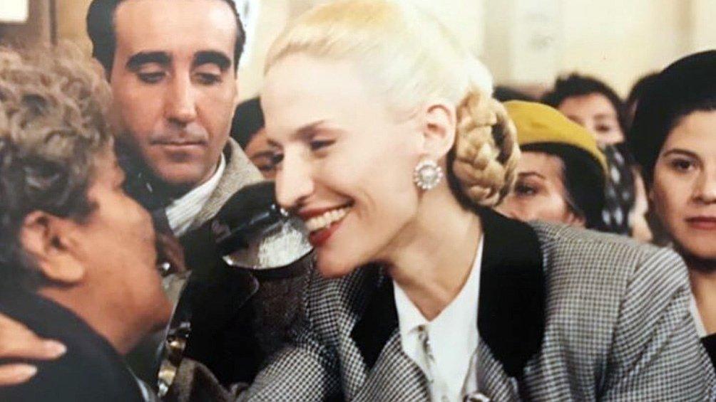 'Eva Perón' un momento clave en la vida de la líder social