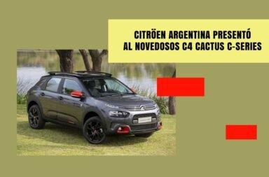 Citröen Argentina presentó al novedosos C4 Cactus C-Series