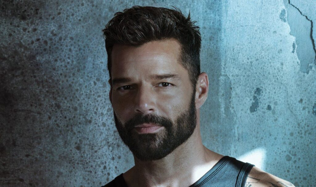 Ricky Martin en la producción navideña de Netflix