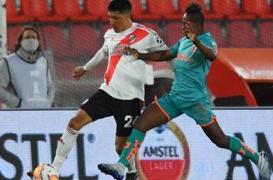 River terminó primero en el grupo de la Copa Libertadores
