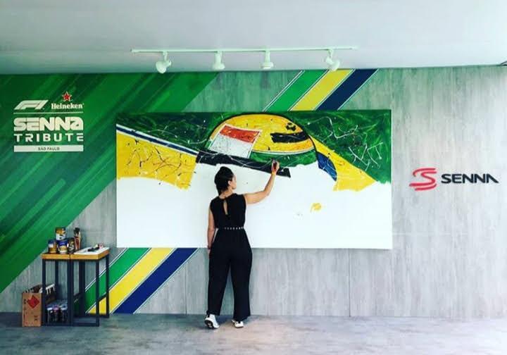 Daniela Montesano: La pasión por el mundo motor transformada en obra de arte