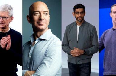 Apple, Amazon, Facebook y Google en la mira de Japón