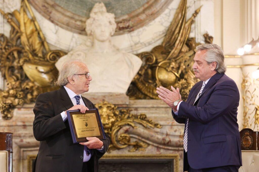 Patricia Bullrich criticó al Nobel de la Paz, Pérez Esquivel, por cuestionar el informe de Bachelet sobre Venezuela