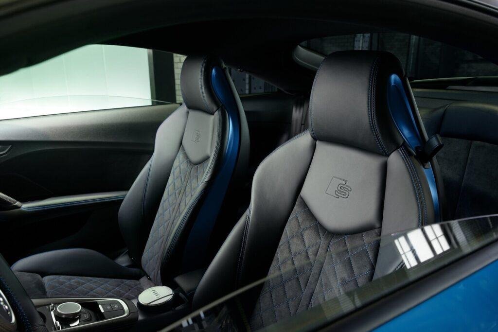 El Audi TT recibió un nuevo equipamiento para llamar más la atención