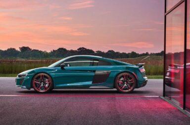 Audi lanzó una edición especial del R8 como homenaje a sus victorias en Nürburgring