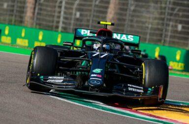 Bottas se impuso en la clasificación de la F1 en Ímola