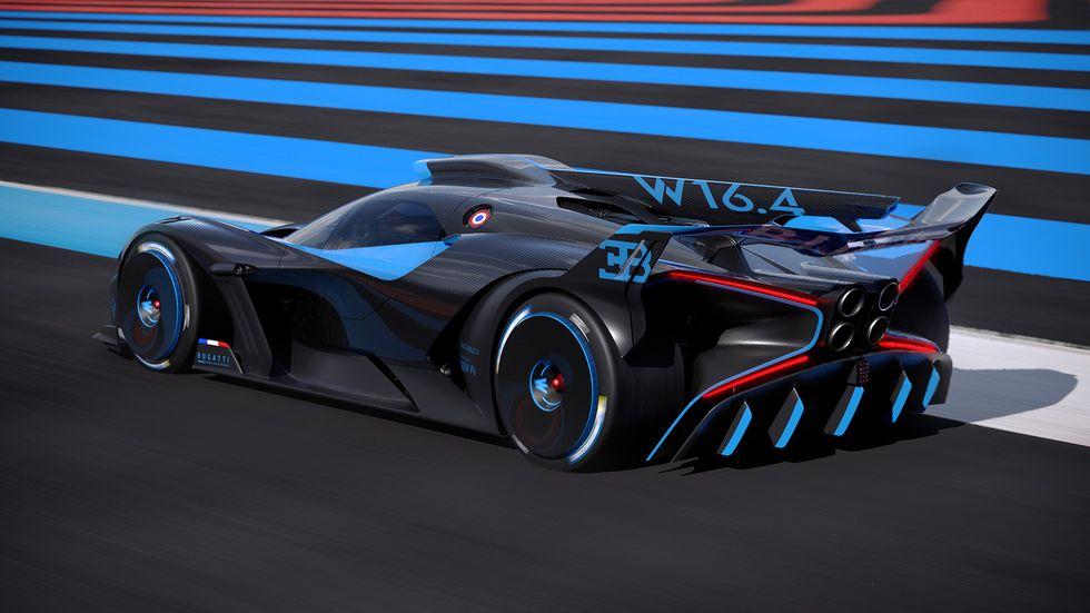 Bolide: La nueva bestia de Bugatti con 1850 caballos de fuerza