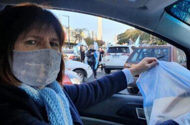 Patricia Bullrich convocó a una nueva marcha contra el Gobierno para el 12 de octubre