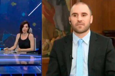 Cristina Pérez, nuevamente en offside: esta vez, con el ministro de Economía, Martín Guzmán
