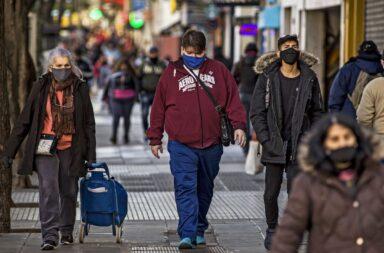 AMBA: caída de casi un 40% de los contagios de coronavirus en las últimas siete semanas