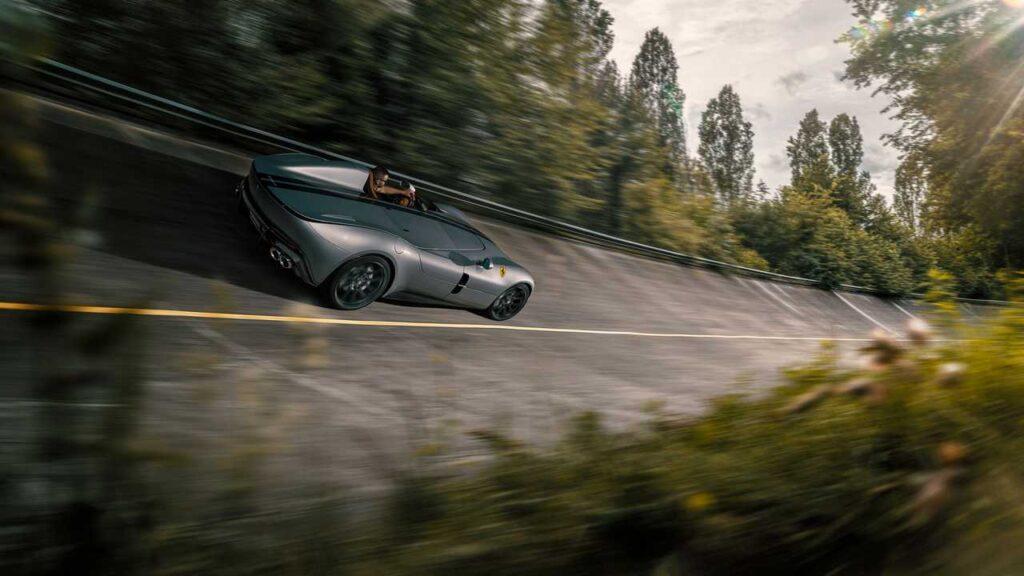 La Ferrari Monza SP1 recibió una cuota más de potencia y estética