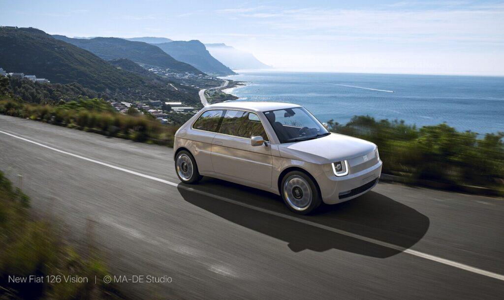 Fiat 126 Vision: La combinación entre lo clásico y el futuro