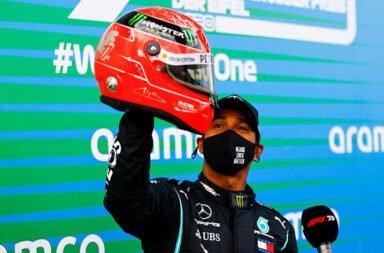 """Hamilton: """"Nunca imaginé alcanzar el récord de Schumacher, es surrealista"""""""