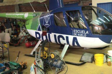 Berni habló sobre el helicóptero hallado en Paraguay alquilado por la gestión de Vidal: