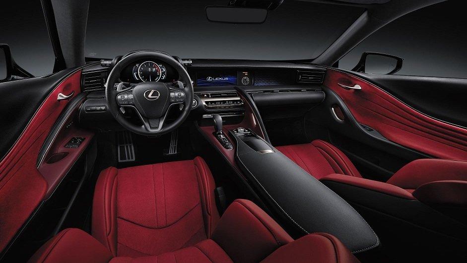 El Lexus LC 500 Coupé comenzó a venderse en Argentina