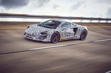 McLaren sacó a rondar a su futuro deportivo híbrido enchufable