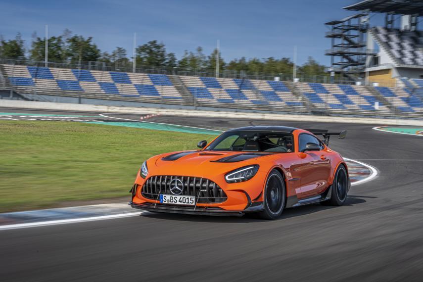 Llega la bestia más imponente de la historia de Mercedes AMG: El GT Black Series
