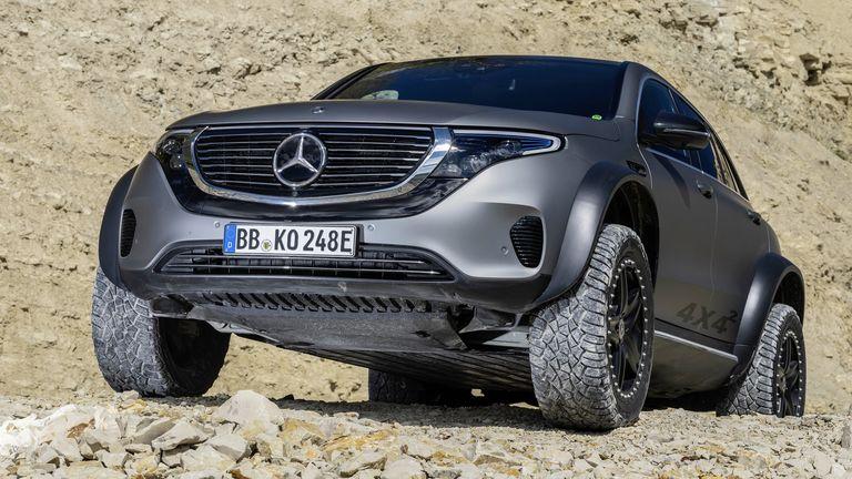 Mercedes presentó el one-off de un todoterreno 4x4 completamente ecológico