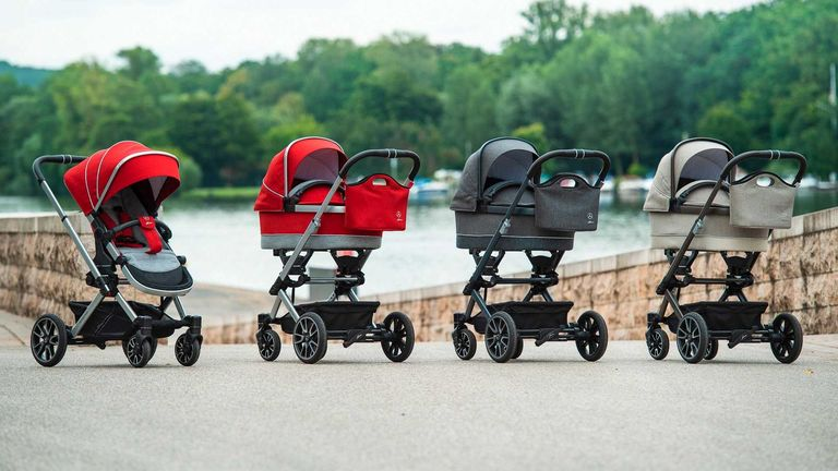 Mercedes AMG le apunta a todas las edades y lo último es: ¡un cochecito para bebés!