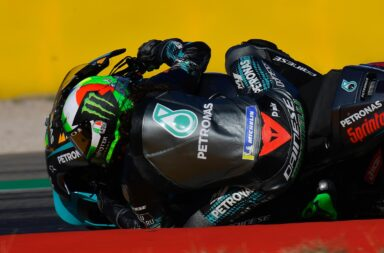 Morbidelli ganó en Aragón y se prende en la disputa por el título de Moto GP