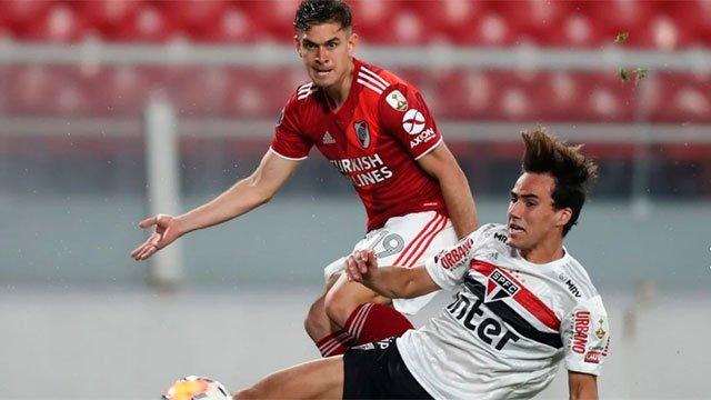 River ganó y sigue en la Libertadores