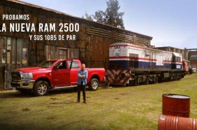 Probamos las RAM 2500, la camioneta que puede empujar lo que sea