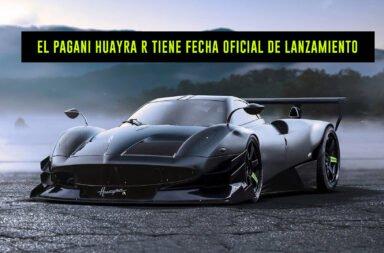 El Pagani Huayra R tiene fecha oficial de lanzamiento