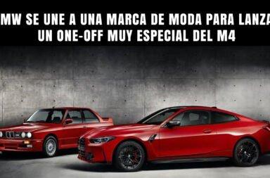 BMW se une a una marca de moda para lanzar un One-Off muy especial del M4