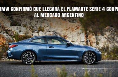 BMW confirmó que llegará el flamante Serie 4 Coupé al mercado argentino