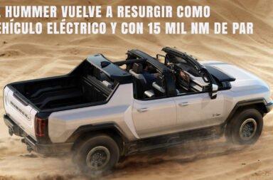 El Hummer vuelve a resurgir como vehículo eléctrico y con 15 mil Nm de par