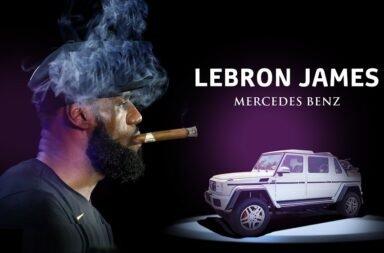 Lebron James festejó su 4° anillo en la NBA autoregalándose una bestia de Mercedes Benz